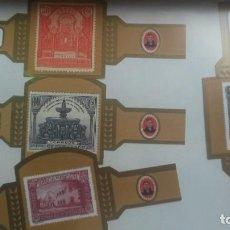 Vitolas de colección: 4 VITOLAS DON JULIAN V CENTENARIO. Lote 189916861
