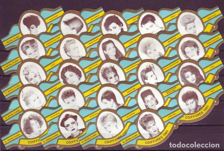 ROYAL FLUSH, PEINADOS 1985, AZUL, 24 VITOLAS, SERIE COMPLETA. (Coleccionismo - Objetos para Fumar - Vitolas)