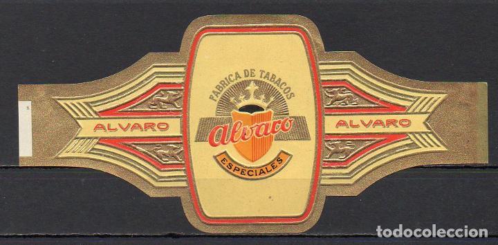 ALVARO, ESPECIALES, 1 VITOLINA, SERIE COMPLETA. (Coleccionismo - Objetos para Fumar - Vitolas)