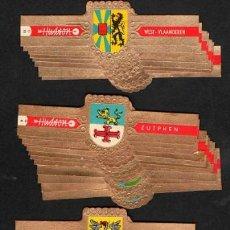 Vitolas de colección: HUDSON. SIETE SERIES COMPLETAS CLÁSICAS. ANTIGUOS ESCUDOS DE ARMAS.. Lote 192473278