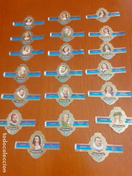 LOTE DE 20 VITOLAS DE PERSONAJES (Coleccionismo - Objetos para Fumar - Vitolas)