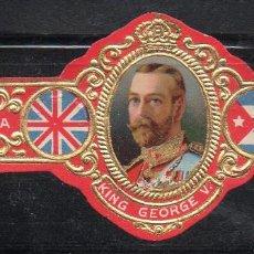 Vitolas de colección: VITOLA CLASICA: 161021, CASA REAL INGLESA, JORGE V, ROMEO Y JULIETA, CUBA. Lote 194197565