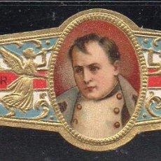 Vitolas de colección: VITOLA CLASICA: 161025, CASAS REALES, NAPOLEON, TALON 12503. Lote 194197693
