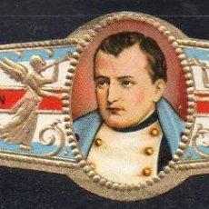 Vitolas de colección: VITOLA CLASICA: 161029, CASAS REALES, NAPOLEON, TALON BLANCO. Lote 194197793