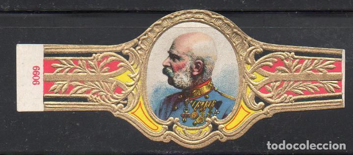 VITOLA CLASICA: 161030, CASAS REALES, REY FRANCISCO JOSE DE AUSTRIA, TALON 9099 (Coleccionismo - Objetos para Fumar - Vitolas)