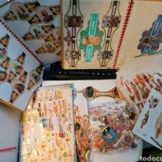 Vitolas de colección: GRAN LOTE VITOLAS RESTO DE COLECCIÓN MILES 2 ÁLBUMES MUCHOS SOBRES LLENOS. Lote 194259783