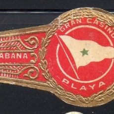 Vitolas de colección: VITOLA CLASICA: 1AA011, TEMA BANDERAS, GRAN CASINO PLAYA, H. UPMANN, CUBA (GRANDE). Lote 194282308