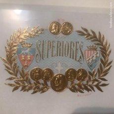 Vitolas de colección: VITOLA SUPERIORES. Lote 194491280