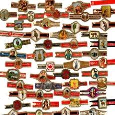 Vitolas de colección: LOTE 50 VITOLAS. Lote 194498180
