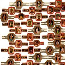 Vitolas de colección: LOTE 50 VITOLAS. Lote 194506048