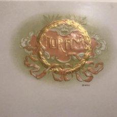 Vitolas de colección: VITOLA FLOR FINA. Lote 194520246