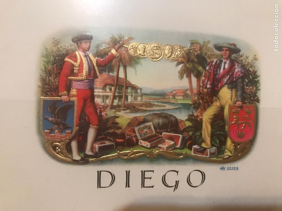 VITOLA DIEGO (Coleccionismo - Objetos para Fumar - Vitolas)