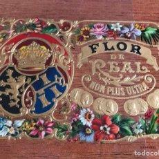 Vitolas de colección: VITOLA FLOR DE REAL. Lote 194589492