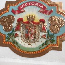 Vitolas de colección: VITOLA VICTORIA. Lote 194589593