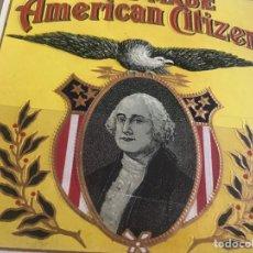 Vitolas de colección: VITOLA AMERICAN CITIZEN. Lote 194589727