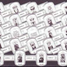 Vitolas de colección: MURILLO, CARTAS DEL TAROT, BLANCO/PLATA, 24 VITOLAS, SERIE COMPLETA.. Lote 194782853