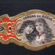 Vitolas de colección: VITOLA CLASICA: 1AA032, MUJERES U.S.A. CORONA DE ROSAS. Lote 194783577