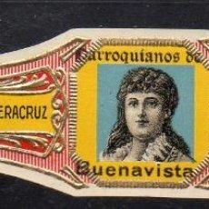 Vitolas de colección: VITOLA CLASICA: 1AA035, MUJERES MEXICO, PARROQUIANOS DE BUENAVISTA, ANDRES CORRALES, MEXICO. Lote 194783642