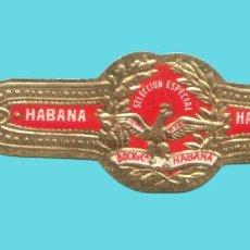 Vitolas de colección: VITOLA ANTIGUA - MARCA BOCK Y CA. (CUBA) - TEMÁTICA ÁGUILAS. Lote 194973367