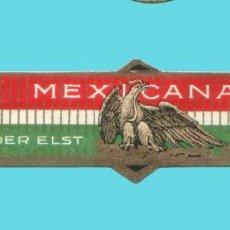 Vitolas de colección: VITOLA ANTIGUA - MARCA VAN DER ELST FRERES - TEMÁTICA ÁGUILAS MEXICANAS. Lote 194973628