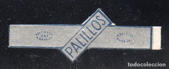 VITOLA CLASICA: 153029, PALILLOS, ORNELAS, MEXICO (Coleccionismo - Objetos para Fumar - Vitolas)