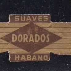 Vitolas de colección: VITOLA CLASICA: 153030, DORADOS, ORNELAS, MEXICO. Lote 195004335