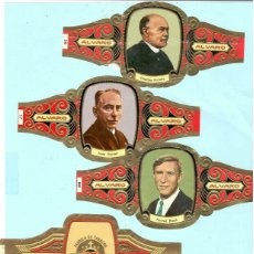 Vitolas de colección: CINCO VITOLAS CASA ALVARO . Lote 195018556