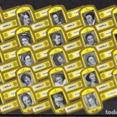 Vitolas de colección: MURILLO, MUJERES EN LA HISTORIA, AMARILLO/ORO, 24 VITOLAS, SERIE COMPLETA.. Lote 195080741