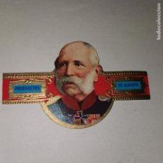 Vitolas de colección: VITOLA CLÁSICA. PREDILECTOS DE ALBERTO CIGAR BAND. Lote 195134345