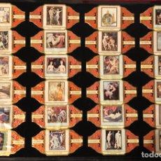 Vitolas de colección: PUROS TABACO ALVARO COLECCION VITOLAS CUADROS. Lote 195243307