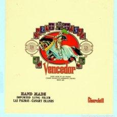 Vitolas de colección: OCHO LITOGRAFIAS DE CASA VENCEDOR . Lote 195295137