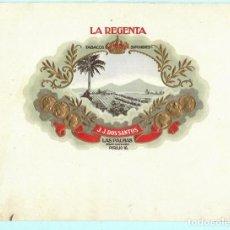 Vitolas de colección: LITOGRAFIAS DE CASA LA RERGENTA . Lote 195297511