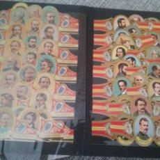 Vitolas de colección: 45 VITOLAS ALVARO. Lote 195300633