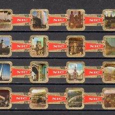 Vitolas de colección: NIC, VISTAS Y MONUMENTOS DE RUSIA, 24 VITOLAS, SERIE COMPLETA.. Lote 195388533
