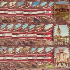 Vitolas de colección: PEDRO CAPOTE, MARAVILLAS MUNDIALES, 24 VITOLINAS, SERIE COMPLETA.. Lote 195389730