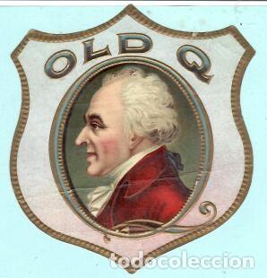 LITOGRAFÍA DE CASA OLD Q (Coleccionismo - Objetos para Fumar - Vitolas)