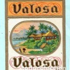Vitolas de colección: LITOGRAFÍA DE CASA VALOSA. Lote 195391846