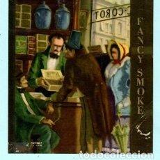 Vitolas de colección: LITOGRAFÍA DE CASA FANCY SMOKE. Lote 195392122