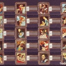 Vitolas de colección: RUBENS, CUADROS DE RUBENS, GRIS, 20 VITOLAS, SERIE COMPLETA.. Lote 195490532