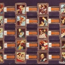 Vitolas de colección: RUBENS, CUADROS DE RUBENS, NARANJA, 20 VITOLAS, SERIE COMPLETA.. Lote 195490566