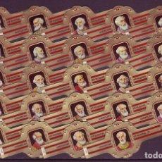 Vitolas de colección: RUBENS, PAPAS, SERIE 3ª, ROJO, 24 VITOLAS, SERIE COMPLETA.. Lote 195490783