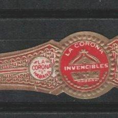 Anéis de charuto de coleção: LOTE B-VITOLA CUBA. Lote 195716798