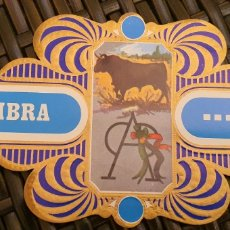 Vitole di collezione: 5 VITOLAS SERIE TAURINA SOLISOMBRA RUMBO.. Lote 197427113