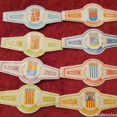 Vitole di collezione: 8 VITOLAS ESCUDOS DE PROVINCIAS ESPAÑOLAS.. Lote 197455481