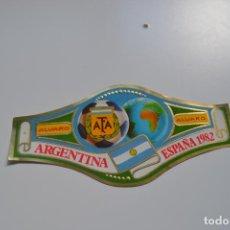 Anéis de charuto de coleção: VITOLA. ARGENTINA. ESPAÑA 1982. FÁBRICA DE TABACOS ÁLVARO.. Lote 197603447