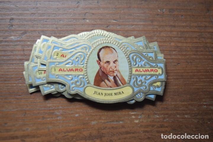 VITOLAS DE PREMIOS PLANETA, ALVARO, COMPLETA (Coleccionismo - Objetos para Fumar - Vitolas)