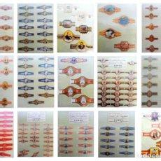 Vitolas de colección: COLECCION 200 VITOLAS DE PUROS DEL MUNDO (M.S.XX). Lote 199211613