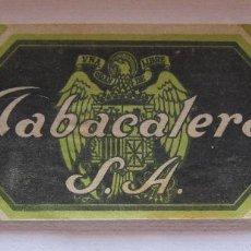 Vitolas de colección: PRECINTO SELLO DE GARANTIA TABACO PICADO FINO SUPERIOR 125 GRAMOS - TABACALERA S.A. 6 X 19 CM. Lote 200120416