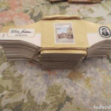 Vitolas de colección: DON JULIAN EUROPA. MAS DE 200 VITOLAS. Lote 201142673