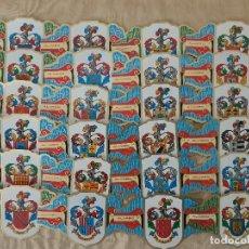 Vitolas de colección: COLECCION COMPLETA SERIE II ALVARO HERALDICA 24 VITOLAS. Lote 202467227